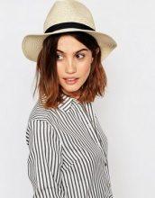 Warehouse - Cappello panama di paglia