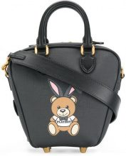 Moschino - ready to bear playboy tote bag - women - Polyurethane - OS - BLACK