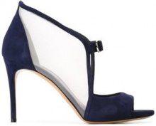 Casadei - Pumps modello open toe - women - Leather/Suede/Nylon - 35, 37.5, 38.5, 39 - BLUE