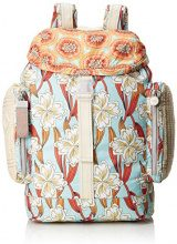 Oilily Whoopy Ornament Backpack Lvz - Borse a zainetto Donna, Turchese (Light Turquoise), 15x40x28 cm (B x H T)