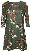 Kelly Floral 3/4 Sleeve Shift Dress