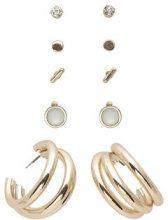 ONLY 5-pack Earrings Women Gold