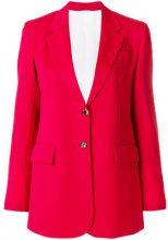 Calvin Klein 205W39nyc - slim fit blazer - women - Cotton/Cupro/Wool - 38, 40, 42 - RED