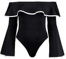 Jessica Bardot Flare Sleeve Body