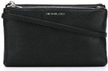 Michael Michael Kors - top-zip shoulder bag - women - Leather - OS - BLACK