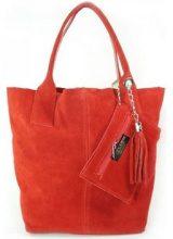 Borsette Vera Pelle  Zamsz XL A4 Shopper Bag