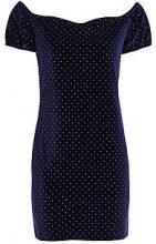 Suri Velvet Off the Shoulder Bodycon Dress