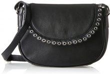 Steffen Schraut Rochester Saddle Bag Ii - Borse a tracolla Donna, Schwarz (Black), 9x16x24 cm (B x H T)