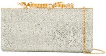 Jimmy Choo - Clutch 'Celeste' - women - Polyester/Metallic Fibre - OS - METALLIC