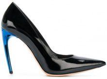 Alexander McQueen - Pumps con tacco inclinato - women - Leather - 36, 36.5, 37, 37.5, 38, 38.5, 39, 39.5, 40 - BLACK