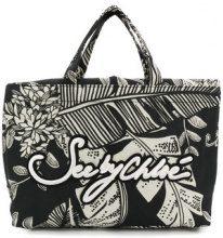 See By Chloé - Gimmick mini tote bag - women - Cotton - OS - BLACK