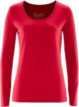 Maglia elasticizzata a maniche lunghe (Rosso) - bpc bonprix collection