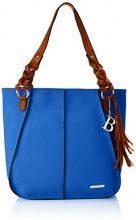 Bulaggi Fendell Shopper - Borse Tote Donna, Blau (Kobalt Blau), 12x33x31 cm (B x H T)