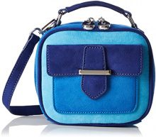 MENBUR Brancere - Borsa Donna, Blau (Azul Blau), 7x14x16 cm (B x H T)