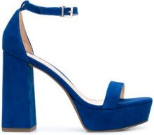 Schutz - Sandali con plateau - women - Leather/rubber - 38, 39, 40 - BLUE