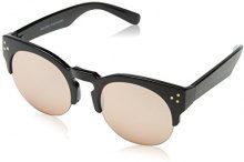 New Look Primrose Preppy, Occhiali da Sole Donna, Nero (Black), 43