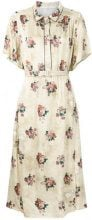 Golden Goose Deluxe Brand - Vestito con stampa a fiori - women - Viscose - M, S, L - NUDE & NEUTRALS