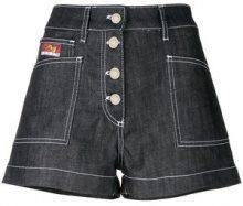 Kenzo - Shorts 'Momento No. 2' - women - Cotton - 38 - BLUE