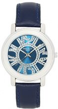 Mike Ellis New York Blueline SL4424 - Orologio da polso da donna colore blu