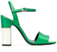 Pollini - Sandali con fibbia alla caviglia - women - Leather - 38, 39, 40, 36.5, 36, 37, 37.5 - Verde