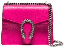 Gucci - Borsa a spalla 'Dionysus' - women - Leather - One Size - Rosa & viola