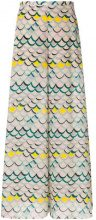 M Missoni - Pantaloni stampati - women - Polyester/Silk - 40, 42, 38, 44 - MULTICOLOUR
