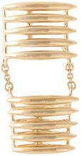 Shaun Leane - Anello 'Quill' - women - Gold Plated Sterling Silver - 54 - METALLIC