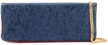 Hilfiger Collection - Borsa Clutch - women - Leather - OS - BLUE