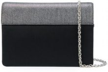Rodo - Clutch con tracolla - women - Leather/Silk - OS - Nero