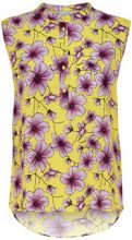 ONLY Printed Sleeveless Top Women Yellow