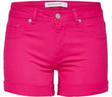 ONLY Solid Shorts Women Pink