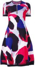 Versace - printed zipped dress - women - Cotton/Polyester/Viscose - 36, 38, 40, 42, 44, 46 - BLUE