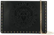 Balmain - Mini pouch 'Domaine' - women - Calf Leather - One Size - BLACK