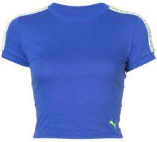 Fenty X Puma - T-shirt crop - women - Cotton/Spandex/Elastane - XS, S, M, L, XXS, XL - BLUE
