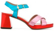 L'Autre Chose - Sandali con cinturino - women - Calf Leather/Leather - 36, 37, 39, 40, 41 - MULTICOLOUR