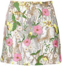 Piccione.Piccione - Minigonna di paillettes - women - Polyester/Acetate/Silk - 40, 42, 44 - GREY