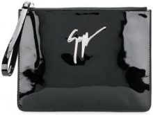 Giuseppe Zanotti Design - Borsa Clutch - women - Patent Leather - OS - Nero