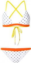 Rye - Zing bikini set - women - Polyester/Spandex/Elastane - XS, M, L - Bianco