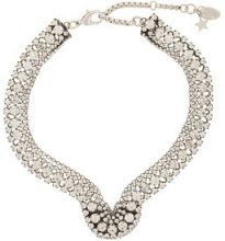 Radà - embellished crystal necklace - women - Rhinestone - OS - BLACK