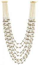 Rosantica - 'Ema' necklace - women - Brass/Pietra - OS - METALLIC