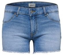 ONLY Dylan Low Push Up Denim Shorts Women Blue