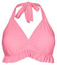JUNAROSE Ruffle Bikini Top Women Red