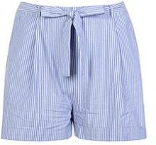 Plus Orla Stripe Belted Woven Shorts