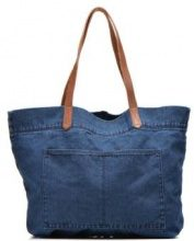 Denim Shopper Cabas denim