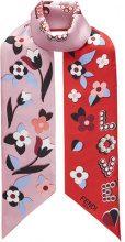Fendi - Bandeau 'Fun Fair Maxi Wrappy' - women - Silk - OS - RED