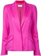 Mugler - long sleeved blazer jacket - women - Spandex/Elastane/Virgin Wool - 40, 36, 38 - PINK & PURPLE