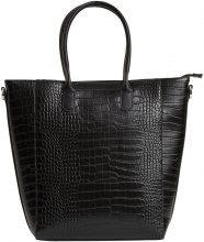 OBJECT COLLECTORS ITEM Imitated Leather Bag Women Black