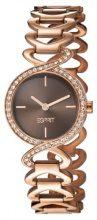 ESPRIT ES106282011 - Orologio da polso da donna, cinturino in acciaio inox colore oro rosa