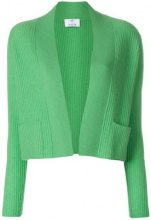 Allude - Cardigan a coste - women - Cashmere - XS, S, M, L - GREEN