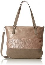 s.Oliver (Bags) 39.802.94.4436 - Borsa Donna, Rosa (Rose Gold), 5x32x37 cm (B x H T)